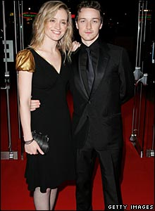 Anne Marie Duff amd James McAvoy