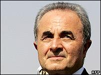 Italian Defence Minister Arturo Parisi