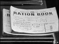 Sir Winston Churchill's ration book (Image: PA)