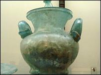 Ancient Roman urn