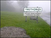 Trethurgy sign