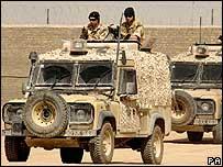 Royal Marine patrol