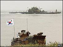 Ejercicios militares surcoreanos este jueves