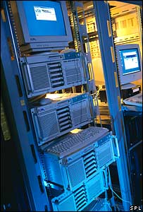 Computer server (Science Photo Library)