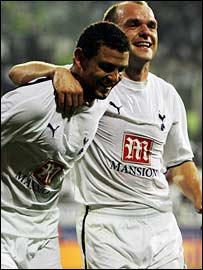 Hossam Ghaly and Danny Murphy