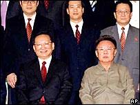 Tang Jiaxuan y  Kim Jong-il