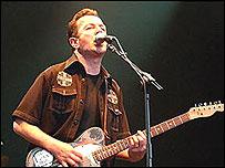 Joe Strummer en vivo.
