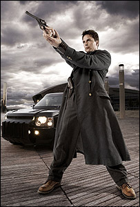 John Barrowman as Captain Jack