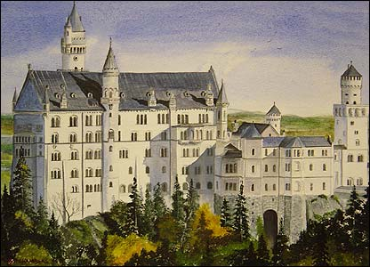 Picture of Neuschwanstein Castle by Steven Chambers