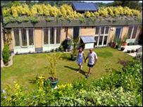 Honingham Earth Sheltered Social Housing Scheme