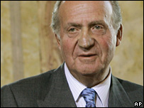 King Juan Carlos of Spain