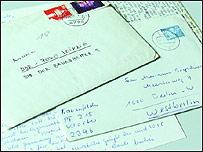 Cartas de Berlín Este a Oeste