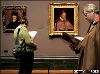 На выставке Веласкеса в Лондоне