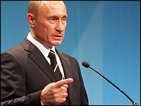 Vladimir Putin (photo: EU Presidency website)