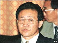 Kim Gye-gwan, viceministro de relaciones exteriores de Corea del Norte. Foto de archivo, 1999.