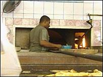 An Iraqi baker