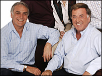 Paul Walters and Terry Wogan
