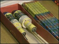 The Ambulance Service warned about firework dangers