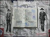 Libro de peregrinaje de Dirk Goetzkes