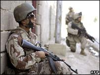 Американский морской пехотинец в Ираке