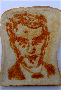 Jude Law in toast and Marmite