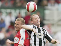 Lee Cattermole and Nicky Butt go head-to-head