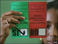 Boleta de votación