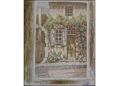Picture of Through the Window by Richard Wood.