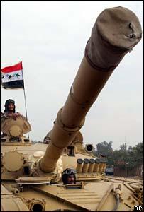 Iraqi tank