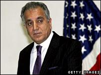 US ambassador to Iraq, Zalmay Khalilzad