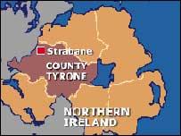 Strabane map