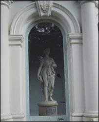 Dancing girl statue