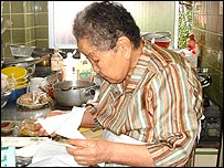 86-year-old Rin Morita
