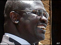 South Sudan Vice-President Riek Machar