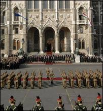 Ceremonies in Budapest