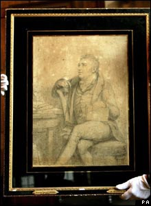 A portrait of Coleridge, dated 1812