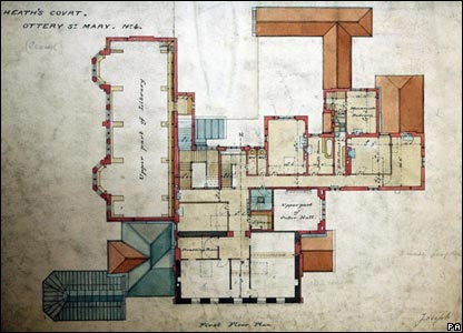 William Butterfield's plans
