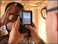 Sistema biométrico en Irak (FOTO: Spencer M Murphy)