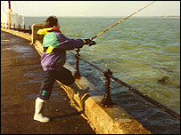 Damien Nettles fishing