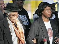 Barbara Reid and Jessie's grandmother