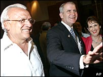 Jose Rizo and Oliver North