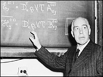 Nobel-winning physicist Niels Bohr