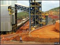 CVRD mine