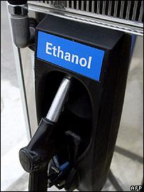 Ethanol fuel pump  Image: AFP