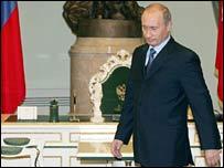 Vladimir Putin at the Kremlin
