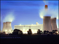 Drax power station