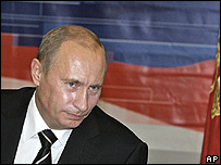 El presidente ruso Vladmir Putin
