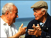 Men talking (Science Photo Library)