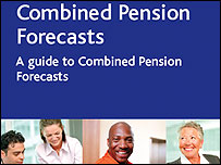 DWP pension forecast service guide