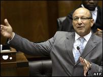 South African Finance Minister Trevor Manuel
